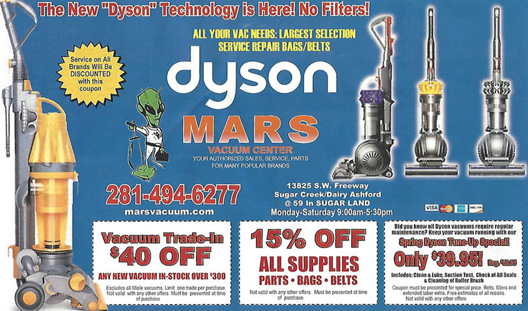 Mars Discount Vacuum | Current Discount Offerings